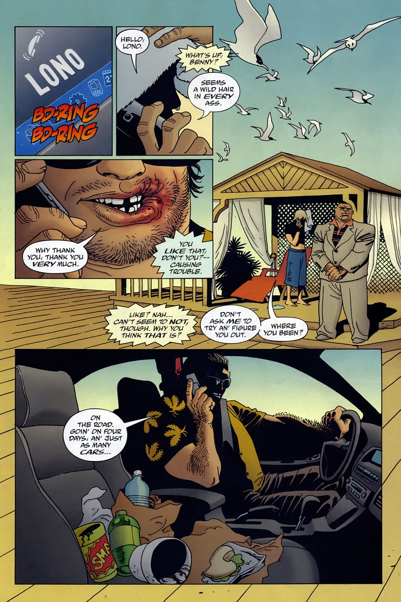 Read online 100 Bullets comic -  Issue #96 - 2
