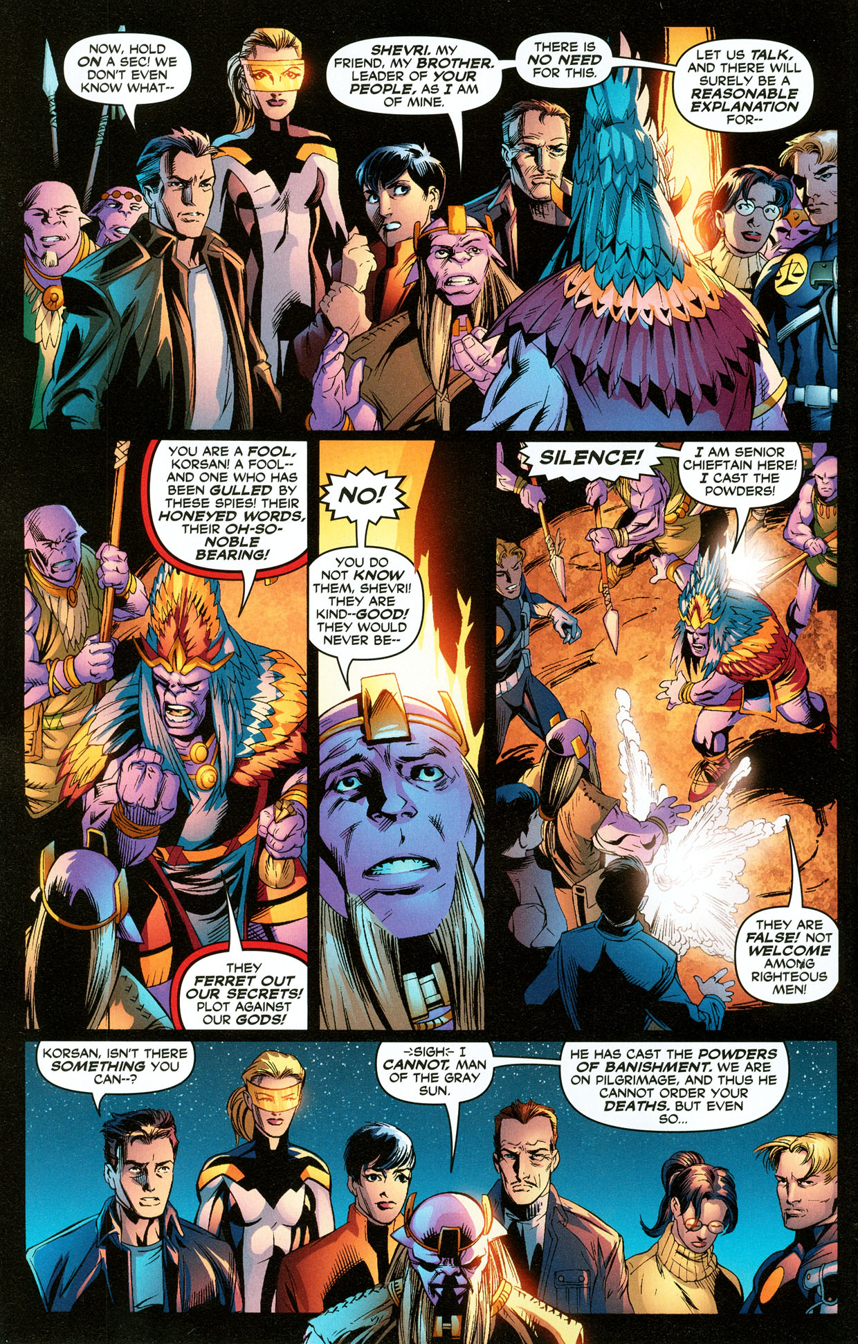 Read online Trinity (2008) comic -  Issue #33 - 4