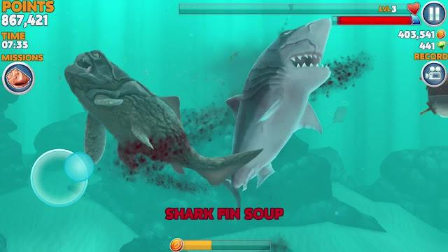 Hungry Shark Evolution v4.3.0 Apk Mod [Compras Gratis]