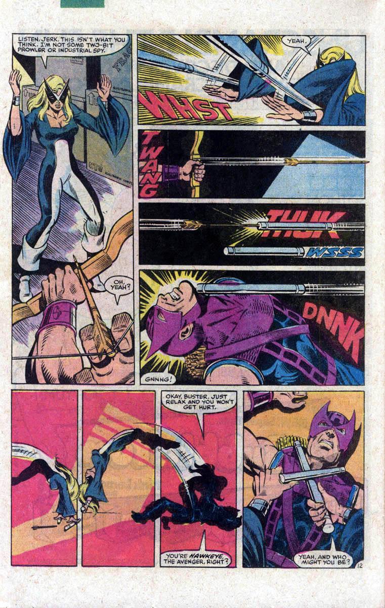 Hawkeye (1983) Issue #1 #1 - English 13