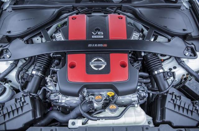 2017 Nissan 370Z Nismo Engine