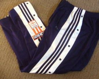 popper tracksuit trousers