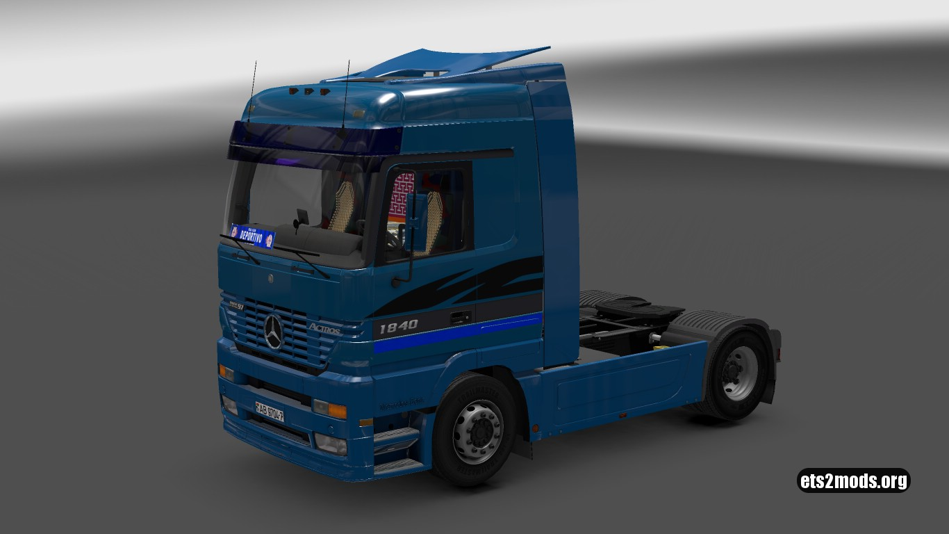Truck - Mercedes Benz MP1 (1.26)