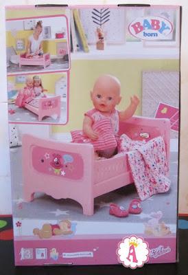 Кровать для куклы Беби Борн