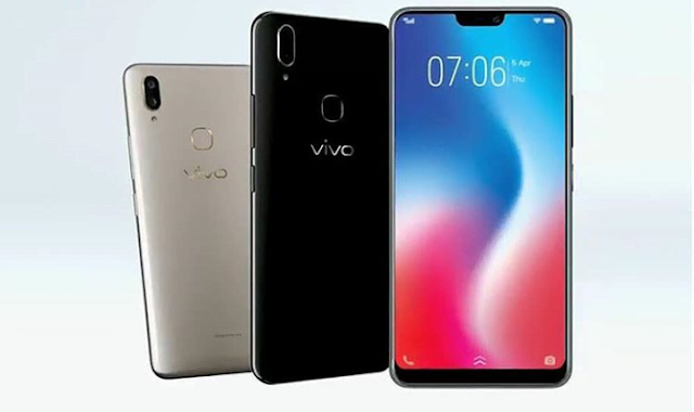 Vivo V9 Design Screen Notch