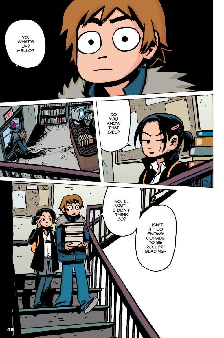 Read online Scott Pilgrim comic -  Issue #1 - 42