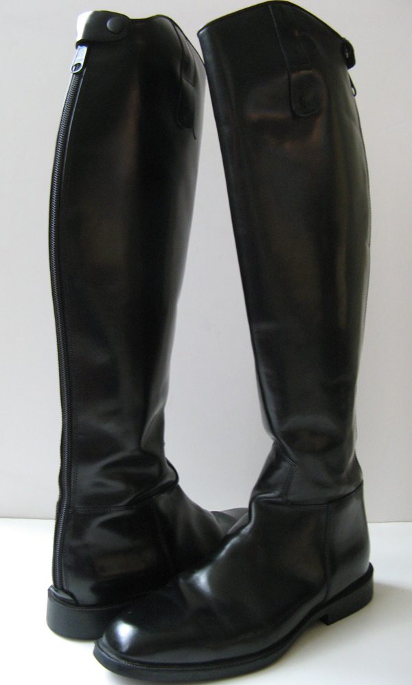 Horse Riding Boots Black Tall Dress Riding Boots Size 10