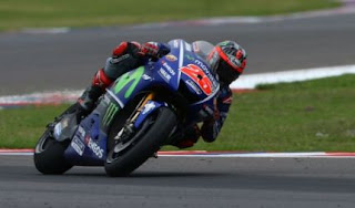 Vinales Pole Position MotoGP Le Mans Prancis 2017, Rossi Kedua
