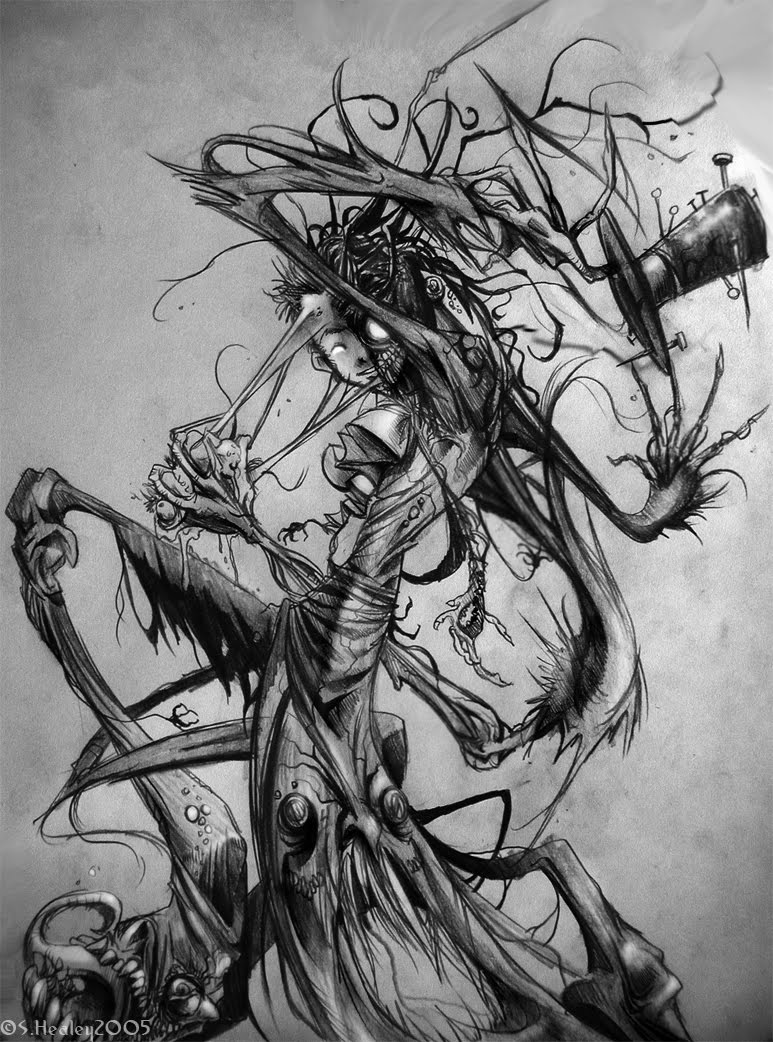 Free Images Fun Never Seen Before Pencil Drawings-5912