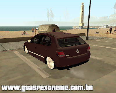 Vw Gol Trend 2009 Edit para grand theft auto