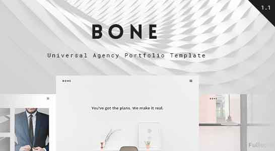 Bone Portfolio HTML Template