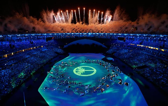 Pictures from Rio Olympics Opening Ceremony