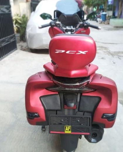 modifikasi honda PCX Sparepart stiker