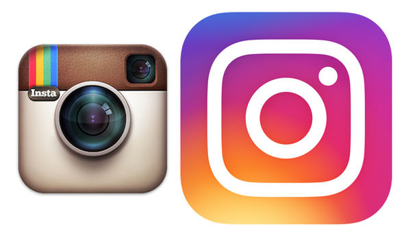 instagram old and new logo