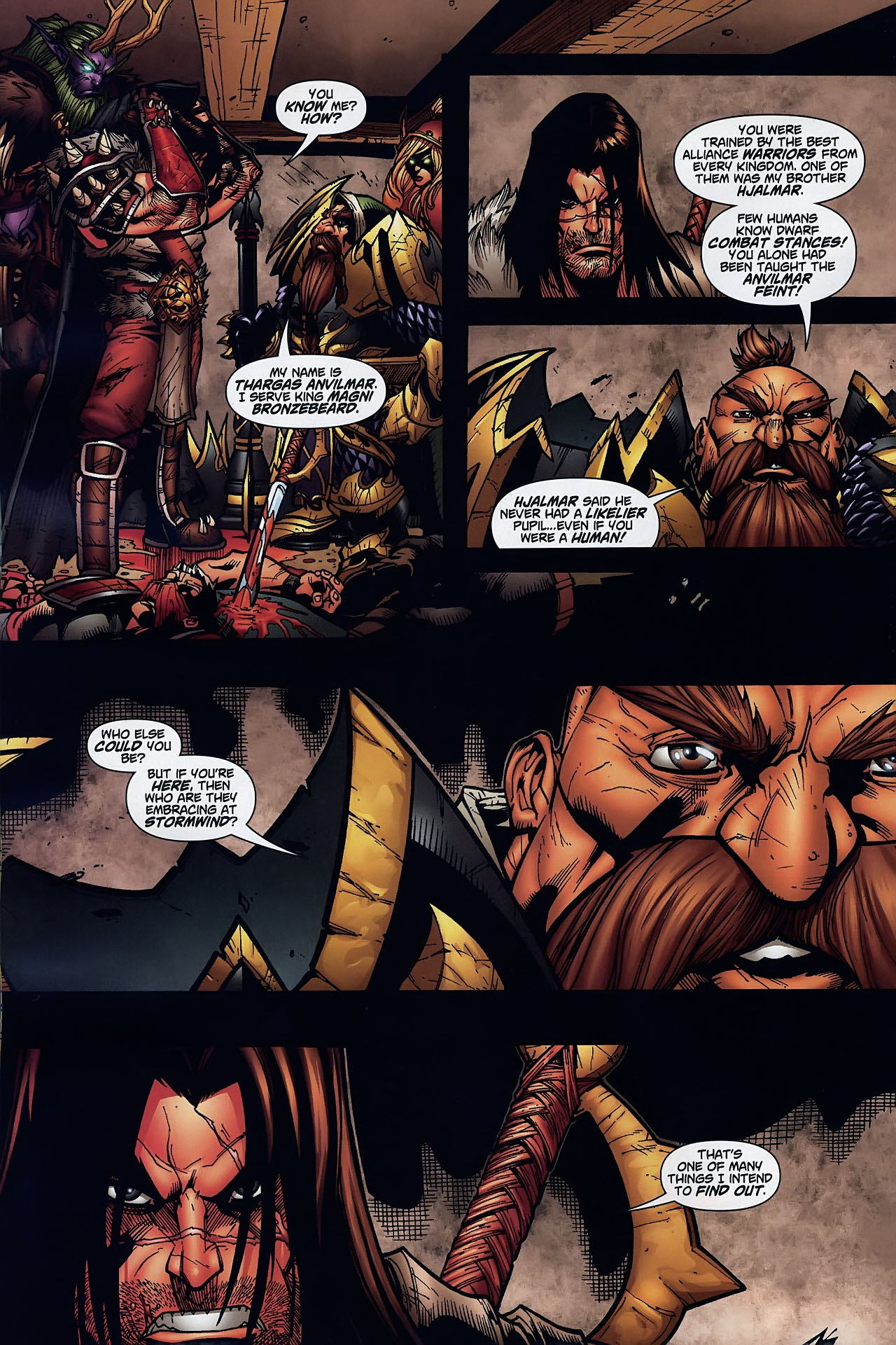 Read online World of Warcraft comic -  Issue #8 - 17