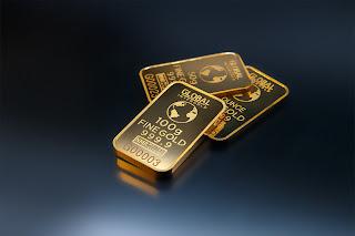 unsur emas dengan simbol Au