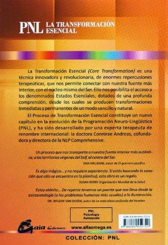 La Transformación Esencial Conirae Andreas GAIA