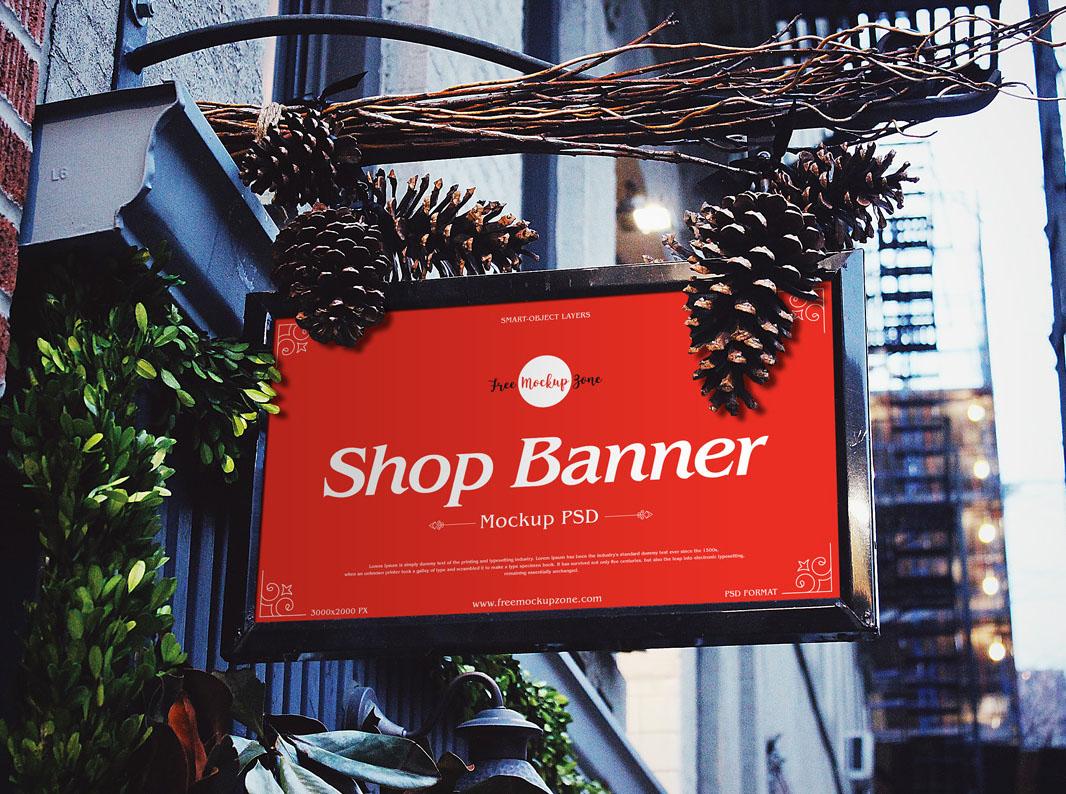 Brand Shop Banner Mockup