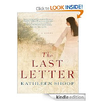<b>Kindle Nation Daily Bargain Book Alert:  Kathleen Shoop's <i>THE LAST LETTER</I> is our eBook of the Day at just $2.99, With 4.0 Stars on 90 Reviews, and Here's a Free Sample!</b>