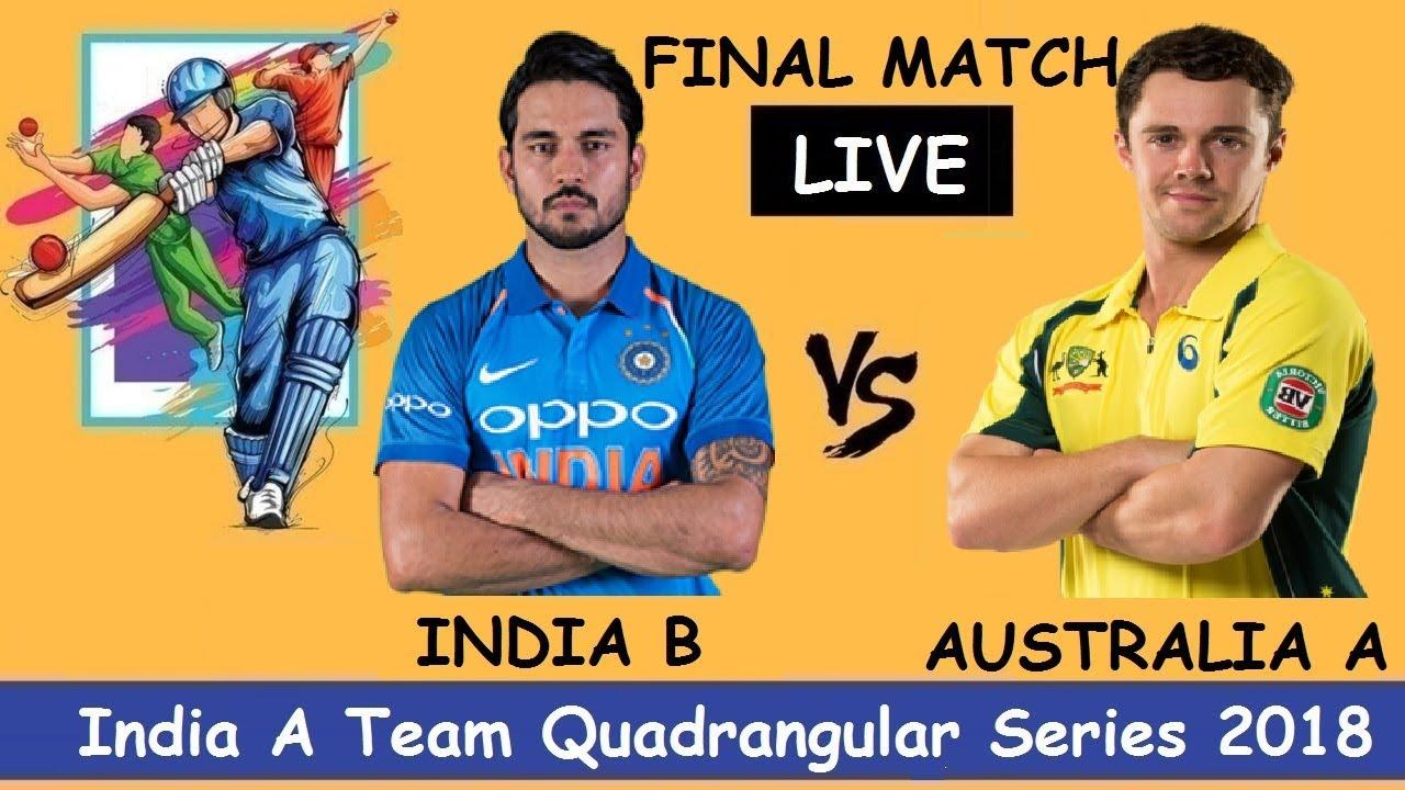 India B Vs Australia A Final Match Highlights India A Team