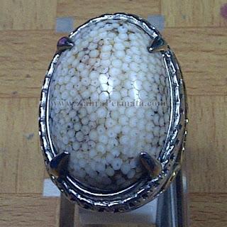 Cincin Batu Sisik Ular Madura - ZP 1035