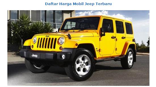 Bagibegi Com 7 Type Price Latest Jeep January 2016