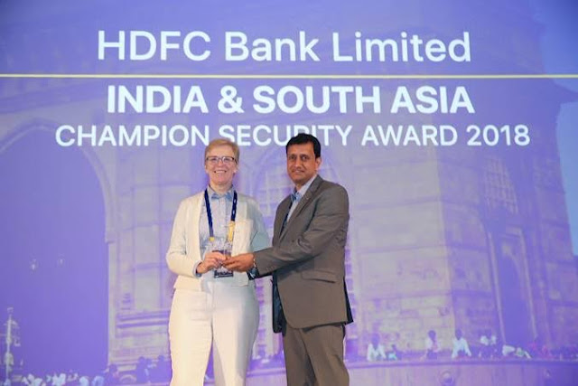 HDFC Bank Recognized for Best Practices in Payment Security at Visa Summit