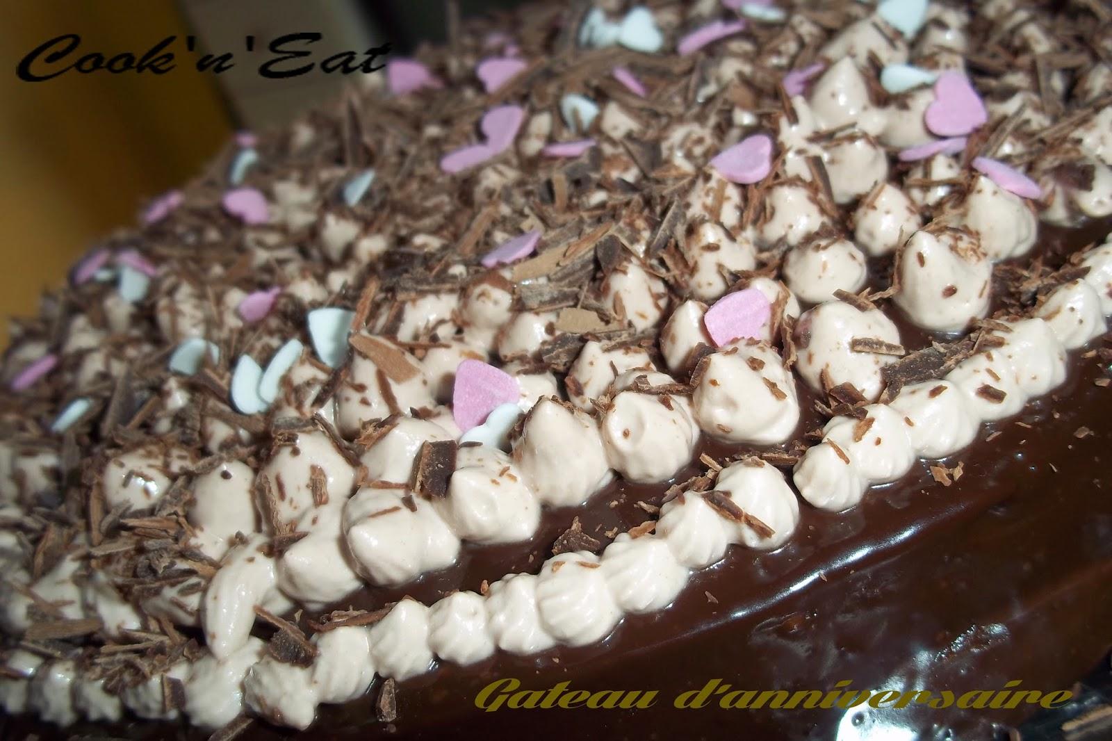 Gateau Au Chocolat Anniversaire Adulte