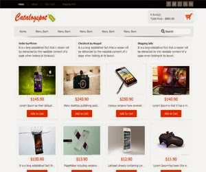 Catalogspot Revo eCommerce Blogger Template