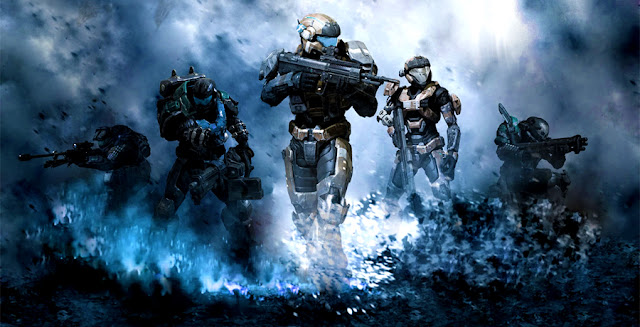 Halo Video Game into series by Steven Spielberg