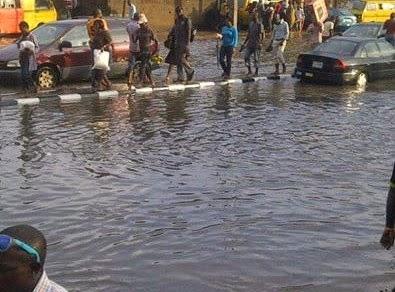 flooding ikeja lagos