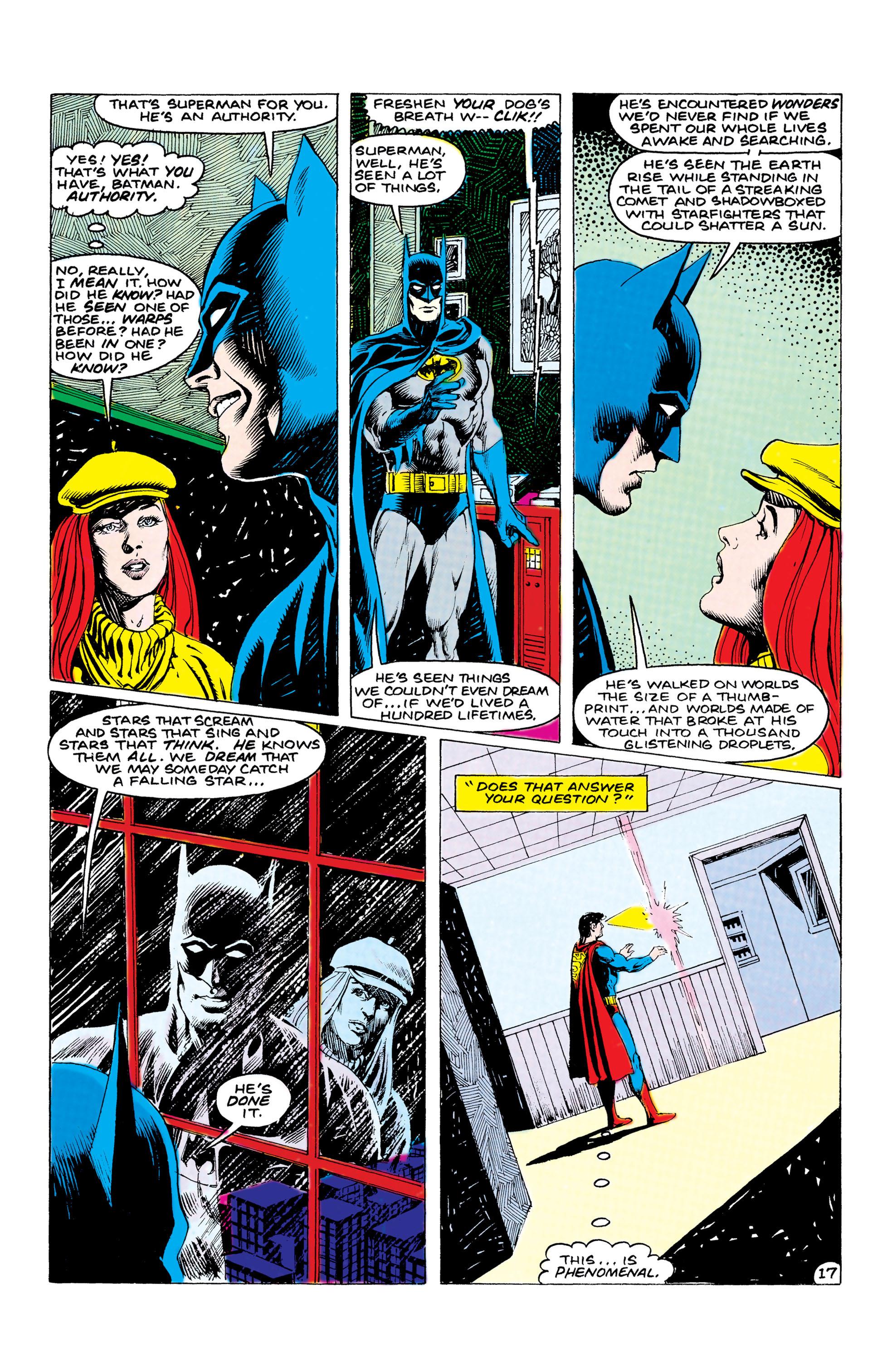 Read online World's Finest Comics comic -  Issue #312 - 18