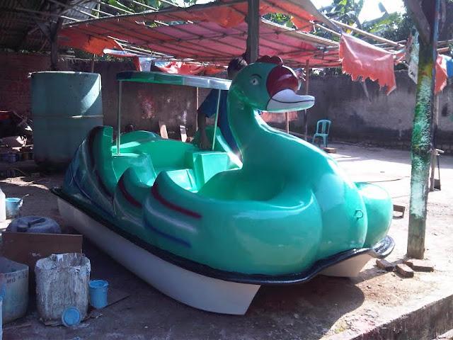 Sepeda Air Bebek