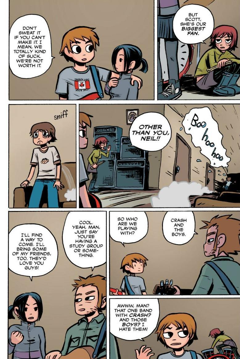 Read online Scott Pilgrim comic -  Issue #1 - 70