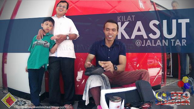 Kilat Kasut @Jalan Tunku Abdul Rahman
