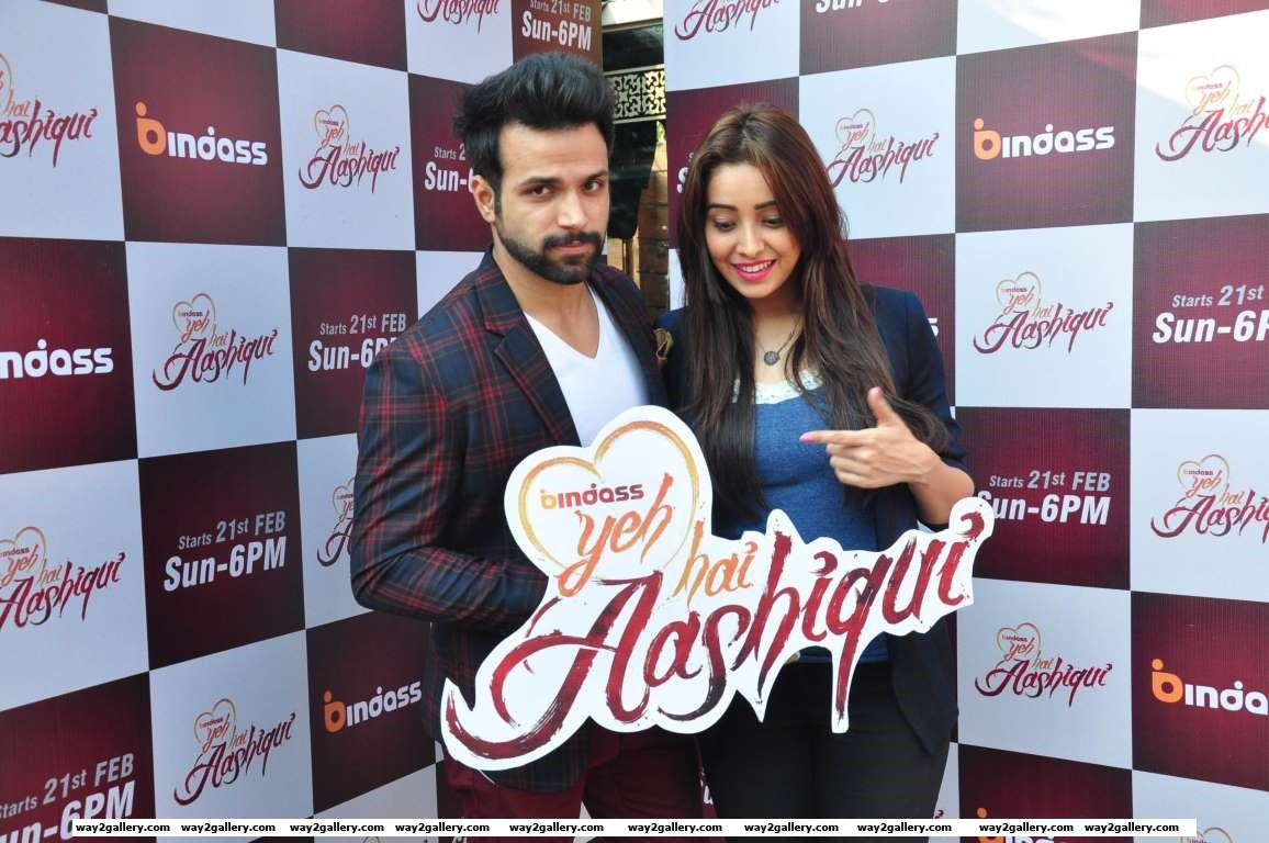 Rithvik Dhanjani and Asha Negi launched the new season of Bindass Yeh Hai Aashiqui