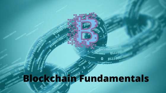 Blockchain fundamentals for beginners course