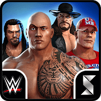 WWE Champions Free Puzzle RPG (God Mode - High Damage) MOD APK