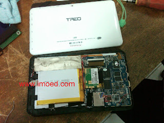 cara bongkar tablet pc treq A10G duo