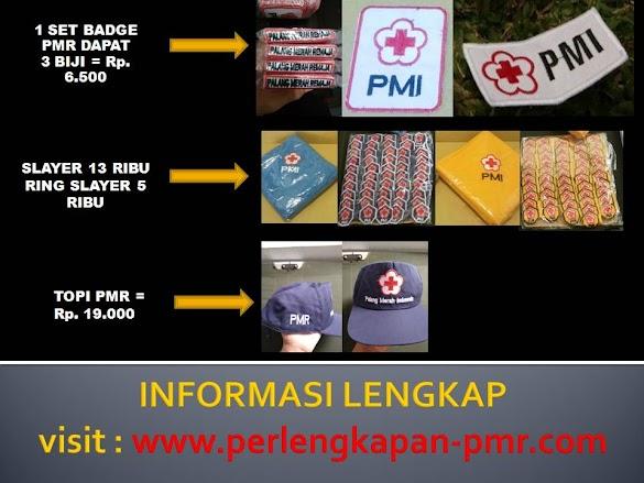 Harga Grosir Atribut PMR di Perlengkapan-pmr.com