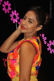 Telugu Actress Model Sri Reddy Latest Stills in Yellow Dress  0038.JPG