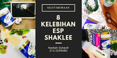 8 Kelebihan ESP Shaklee