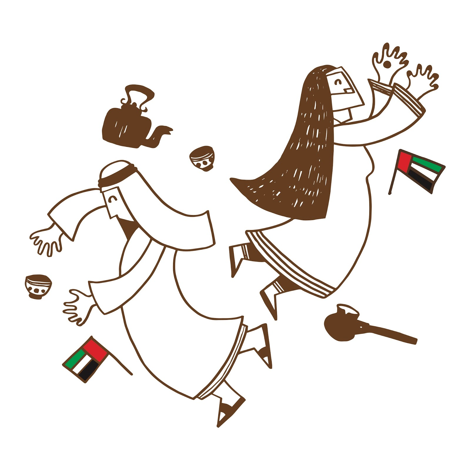 Krossbreed by khalid mezaina have a cup of karak for uae national day biocorpaavc Images