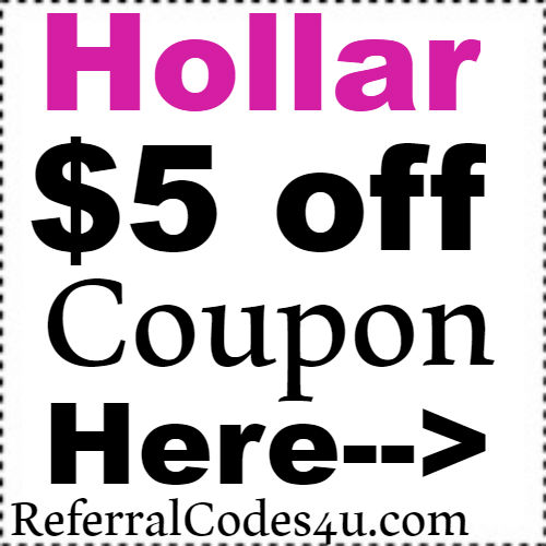 $5 Hollar.com Discount Code Coupon 2018 Jan, Feb, March, April, May, June