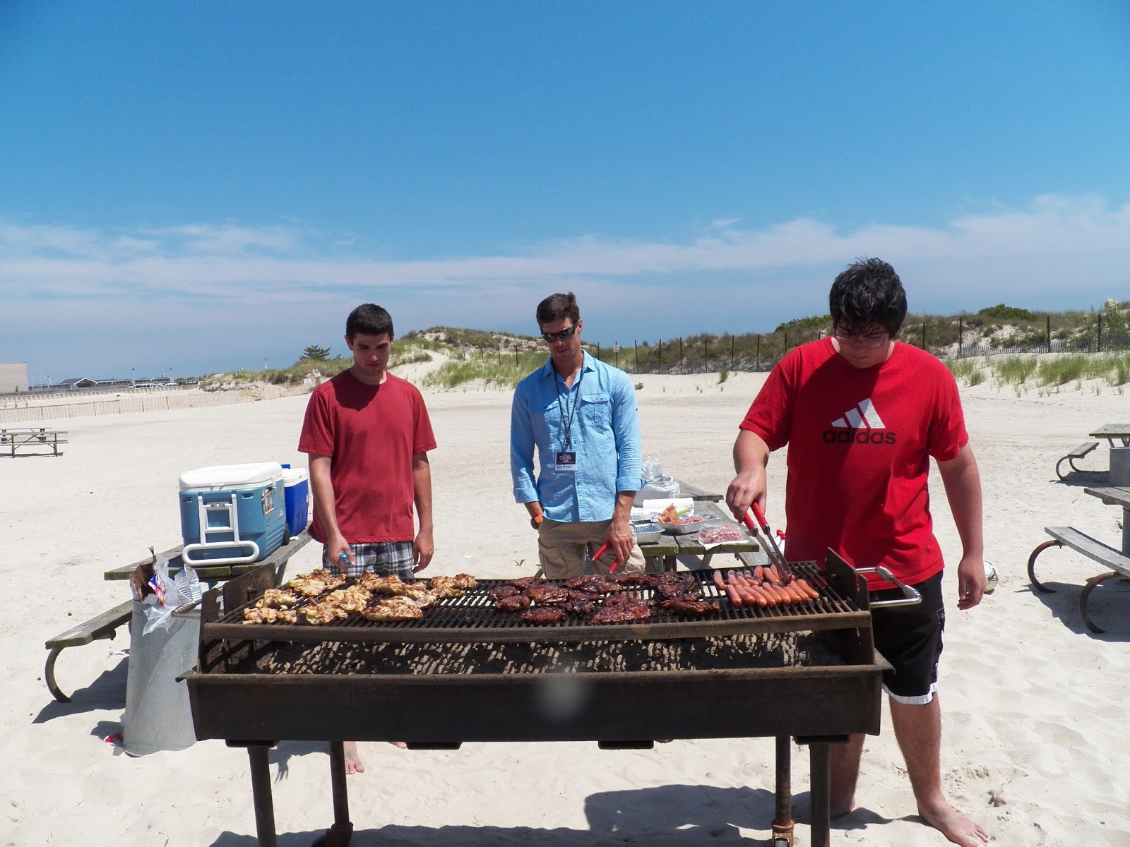 You Can T Have A Bbq Without Hot Y Men Running The Grill Guys Were Awesome Cooks