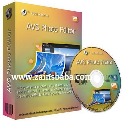 AVS Photo Editor 3.0.2.156 Latest | ZainsBaba.com