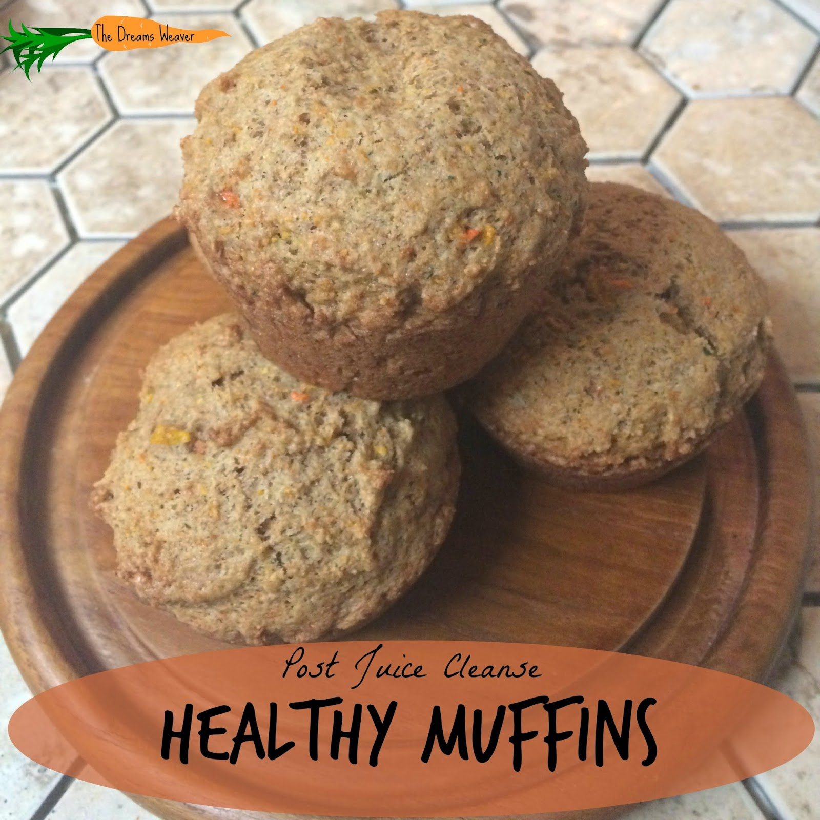 Post Juice Cleanse Healthy Muffins