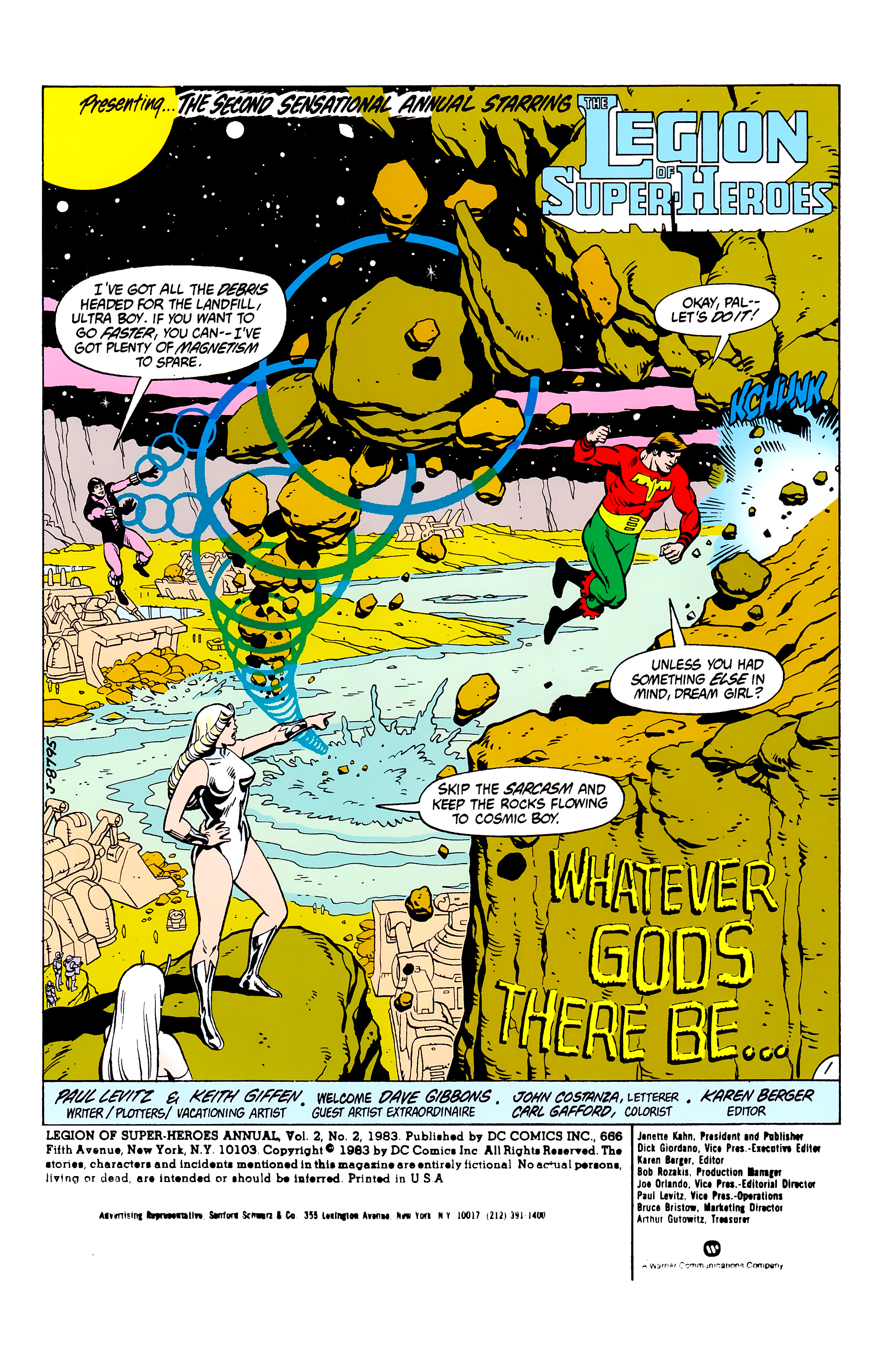 Legion of Super-Heroes (1980) _Annual_2 Page 1