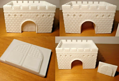 10mm Scale Ancient Great Wall of China picture 4