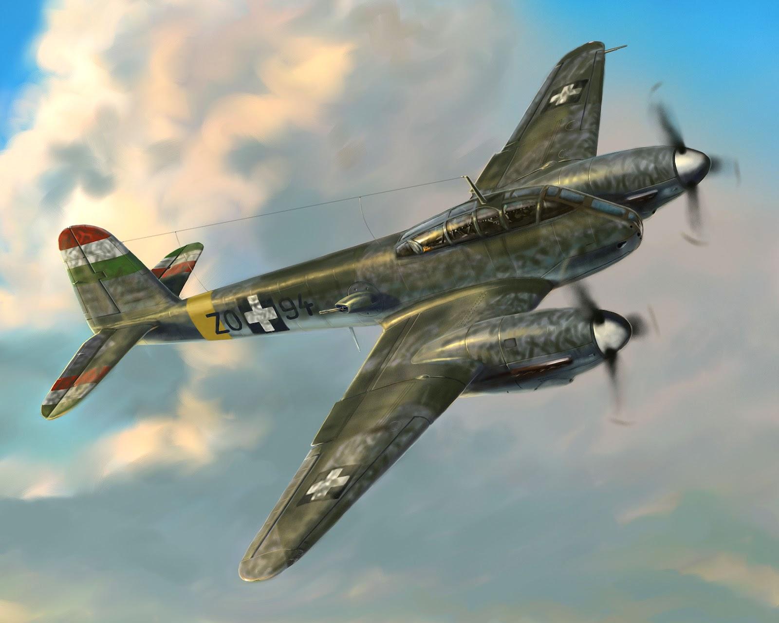 The Art of Gyula Pozsgay: Me-210 Ca1